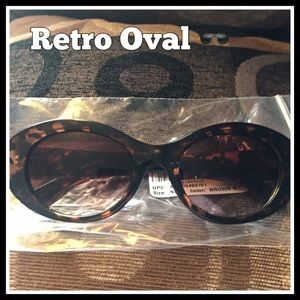 Accessories - Retro oval Sunglasses 😎